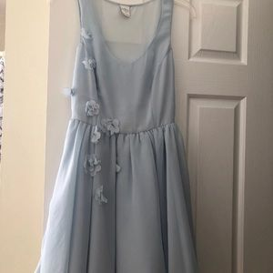 Brand new sky blue dress.. Cinderella like!